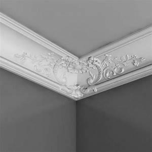 Corniche Plafond Platre : orac decor 39 s luxxus crown molding c338b c338b crown moulding for sale ~ Voncanada.com Idées de Décoration