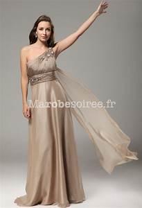 robe de bal asymetrique avec rubans flottants mousseline With robe de cocktail combiné avec bracelet ruban message