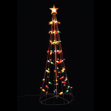 shotgun shell lights 6ft shotgun shell string lights cone tree lawn