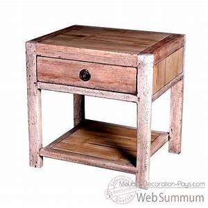 Meuble De Chevet : achat de chevet sur meuble decoration pays ~ Teatrodelosmanantiales.com Idées de Décoration
