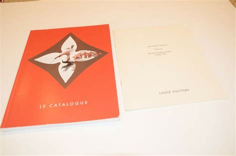louis vuitton le catalogue fashion catalog ad ads paris handbags purse ebay