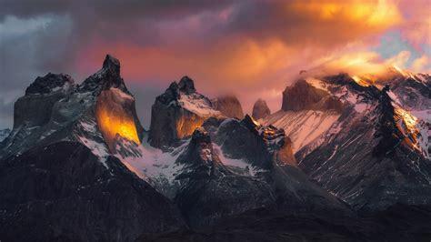 torres del paine national park  ultrahd wallpaper