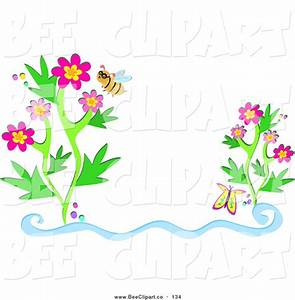 Bees And Flowers Clipart (45+)