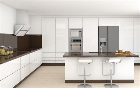 white and brown kitchen designs 35 beautiful white kitchen designs with pictures 1732
