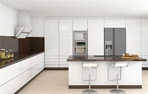35 beautiful white kitchen designs with pictures With brown and white kitchen designs
