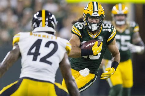 Packers' Final* 2018 53-man Roster: Receivers and tight ...