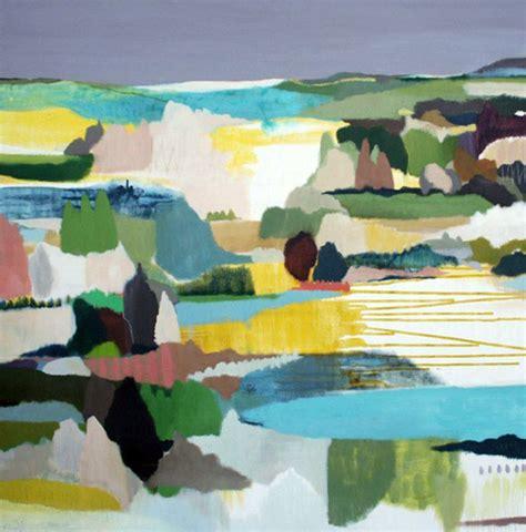 australian modern abstract landscape interiorzine