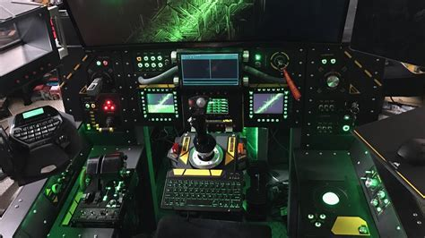 Star Citizen Gaming Cockpit Systems