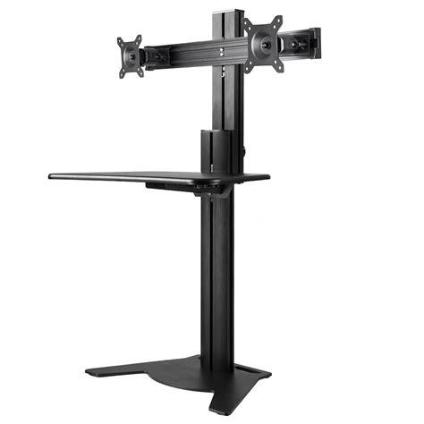 adjustable desk riser adjustable height sit stand work computer monitor