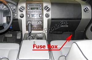 Fuse Box Diagram Lincoln Mark Lt  2006