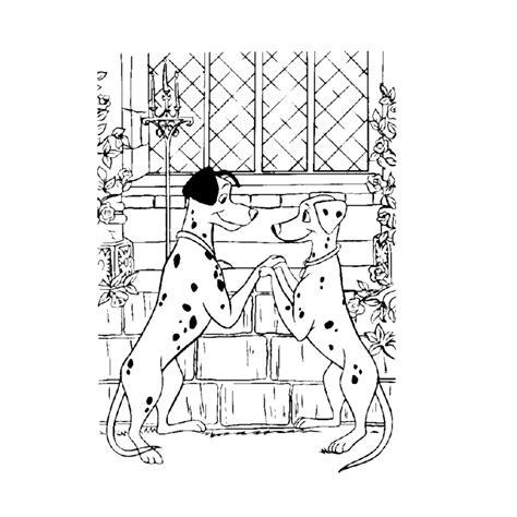 Kleurplaat 101 Dalmatiers by Leuk Voor 101 Dalmatiers 0007