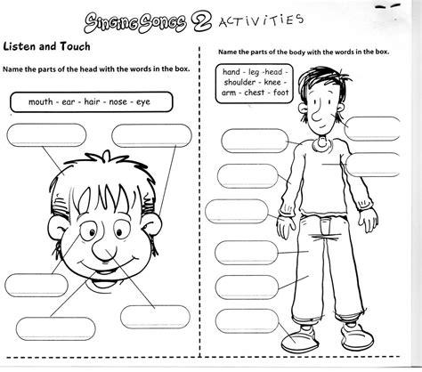 Learningenglishesl Body Worksheets  School Stuff  Pinterest  Worksheets, Bodies And English
