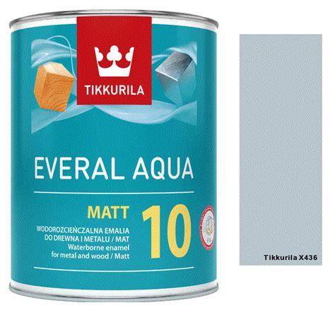 TIKKURILA Everal Aqua Matt [10] 0,9L KOLOR X436 rabdom.pl