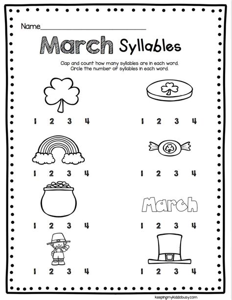 87 Best Syllable Ideas Images On Pinterest  Syllables Kindergarten, Preschool And Writing