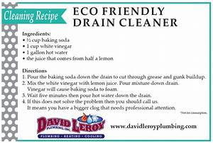 Use this Eco-Friendly Drain Cleaning Recipe   David Leroy ...