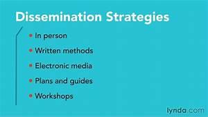 dissemination plan With dissemination plan template