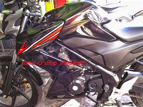 Modifikasi Motor Verza Hitam modifikasi striping verza hitam thecitycyclist