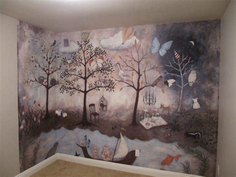Kinderzimmer Wandgestaltung Wald by Aubree S Enchanted Forest Nursery Forest Mural Project