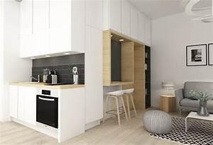 Cuisine Sur Mesure Petite Surface. new meuble petite cuisine best of ...
