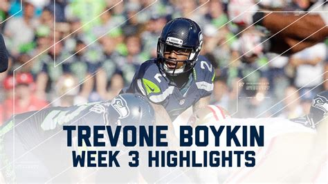 trevone boykin highlights ers  seahawks nfl week
