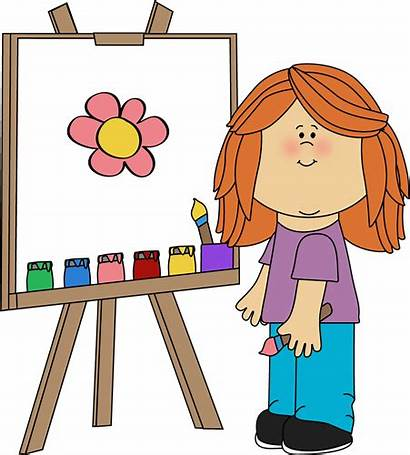 Clipart Canvas Cliparts Clip Library Painted