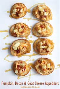 Bacon Goat Cheese Appetizers