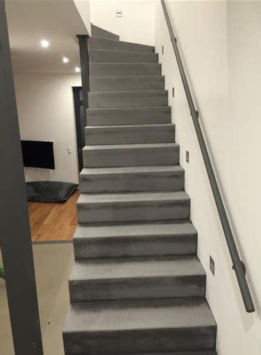 Treppe In Betonoptik by Treppe In Betonoptik Streichen Wohn Design