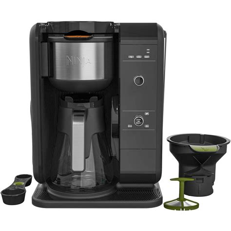 It seemed that the smaller brew sizes were not quite as hot sure, you can try that with your regular coffee pot, but don't be surprised if the results are a dissatisfying amalgam. Ninja CP301A Intelligent Hot/Cold Brew Tea and Coffee Maker w/ Built In Frother 622356554039   eBay