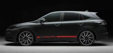 2014 used toyota corolla toyota harrier by wald international has the black bison
