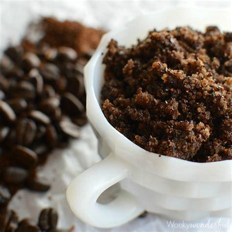 Homemade Coffee Body Scrub   WonkyWonderful