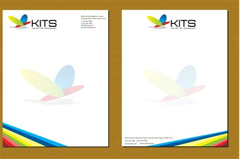 elegant playful letterhead design  habib kayaleh