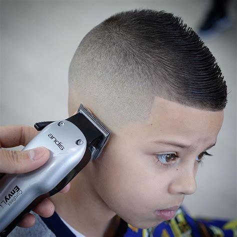 Small Hairstyles For Boys by Faded Fohawk Boy Haircut Boys Fade Haircut