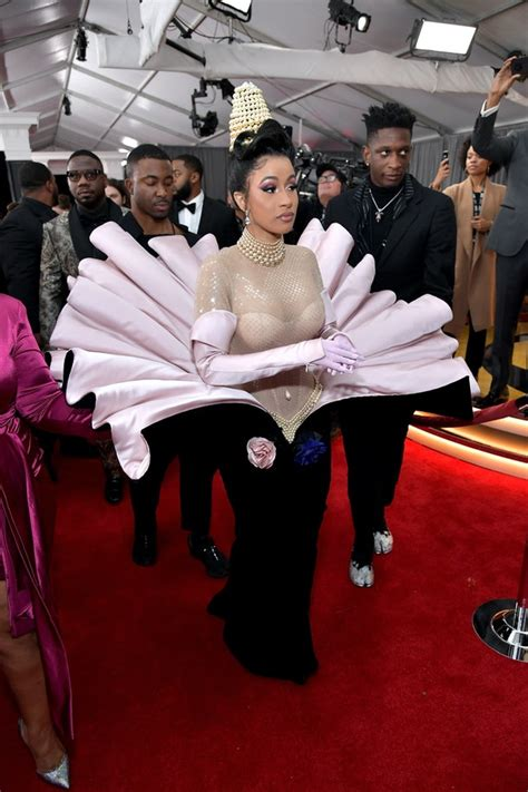 Cardi B's Red Carpet Look At The 2019 Grammys Will Make ...