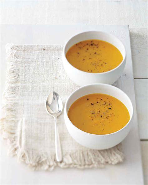 spiced butternut squash and apple soup recipe martha stewart