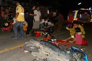 five hurt in two bike crash in phuket