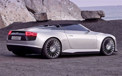 Audi E Tron Spyder Concept 2018 Wallpapers And Hd Images