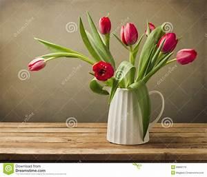 Beau Bouquet De Fleur : beau bouquet de fleur de tulipe image stock image du ~ Dallasstarsshop.com Idées de Décoration