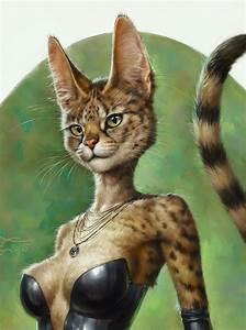 Sexy Cat (detail) by Eldar Zakirov : ImaginaryCharacters
