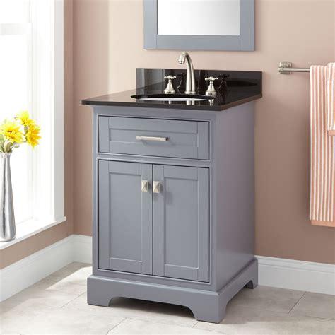 """24"""" Quen Vanity For Undermount Sink  Gray Bathroom"""