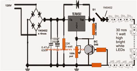Compact Led Tubelight Circuit Diagram Centre