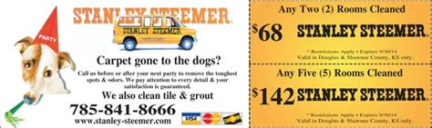 11782 Pocketsmith Coupon by Stanley Steemer Clip Coupons From Journal