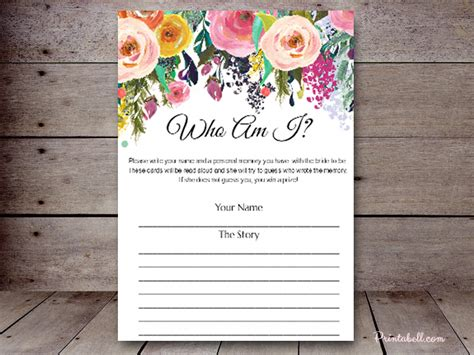 snb  floral chic printabell create