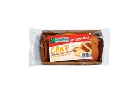 cake sans sucre ajout 233 pauvre en graisses damhert 250 g