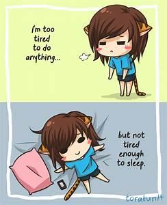 Too tired by torakun14 on DeviantArt