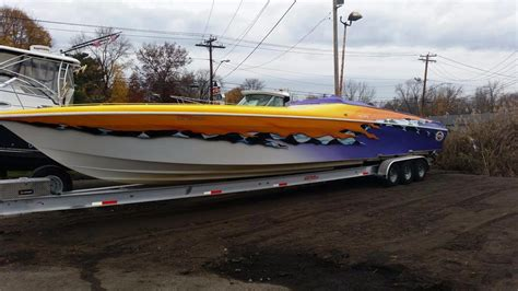 Outerlimits Boats by 2001 Outerlimits 47 Stiletto 2016 Trailer Power Boat For