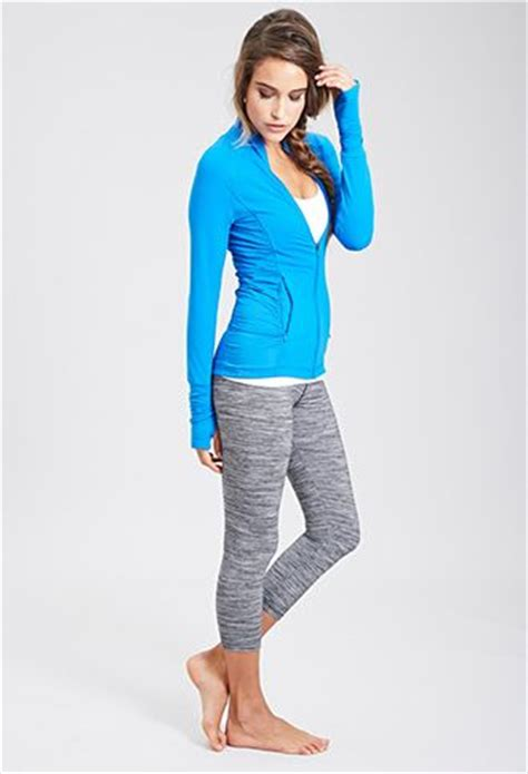 Athletic Track Jacket | FOREVER21 - 2000136982 - cute outfit! | exercise clothing | Pinterest ...