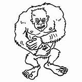 Yeti Coloring Pages Inc Monsters Monster Printable Toddler Fungus Brock Getcolorings Carlton Don Boo Worthington Johnny Sullivan sketch template