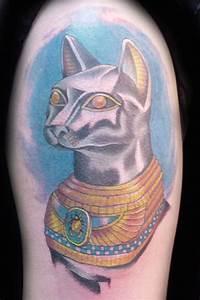 Egyptian Cat Tattoo Designs | www.imgkid.com - The Image ...