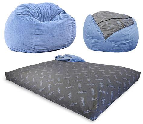 bean bag sofa chair a full size bed that pulls out of a bean bag chair home