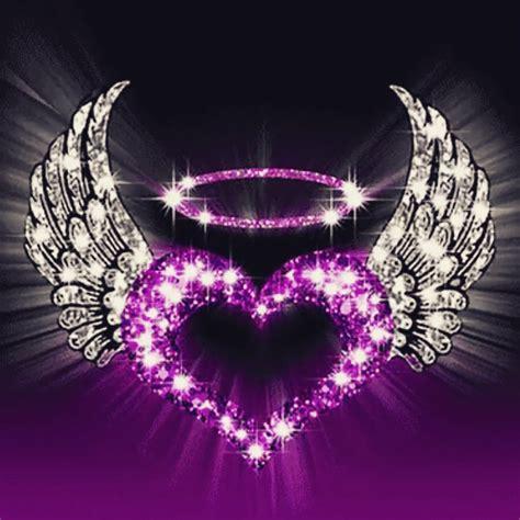purple heart purple papeis de parede tumblr papeis de
